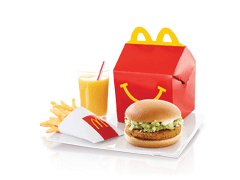 McDonald's Happy Meal Chicken Burger - Dr Bake Pakistan Send gifts to Lahore, Karachi, Islamabad, Pakistan