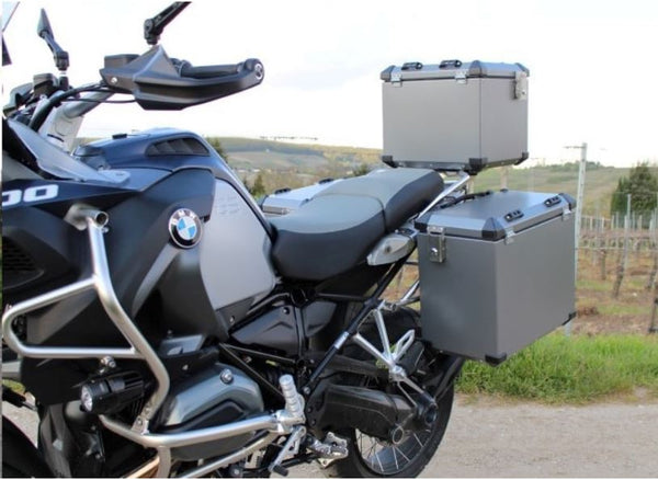BMW R1200GS Luggage - Defender side cases (Silver) Bumot