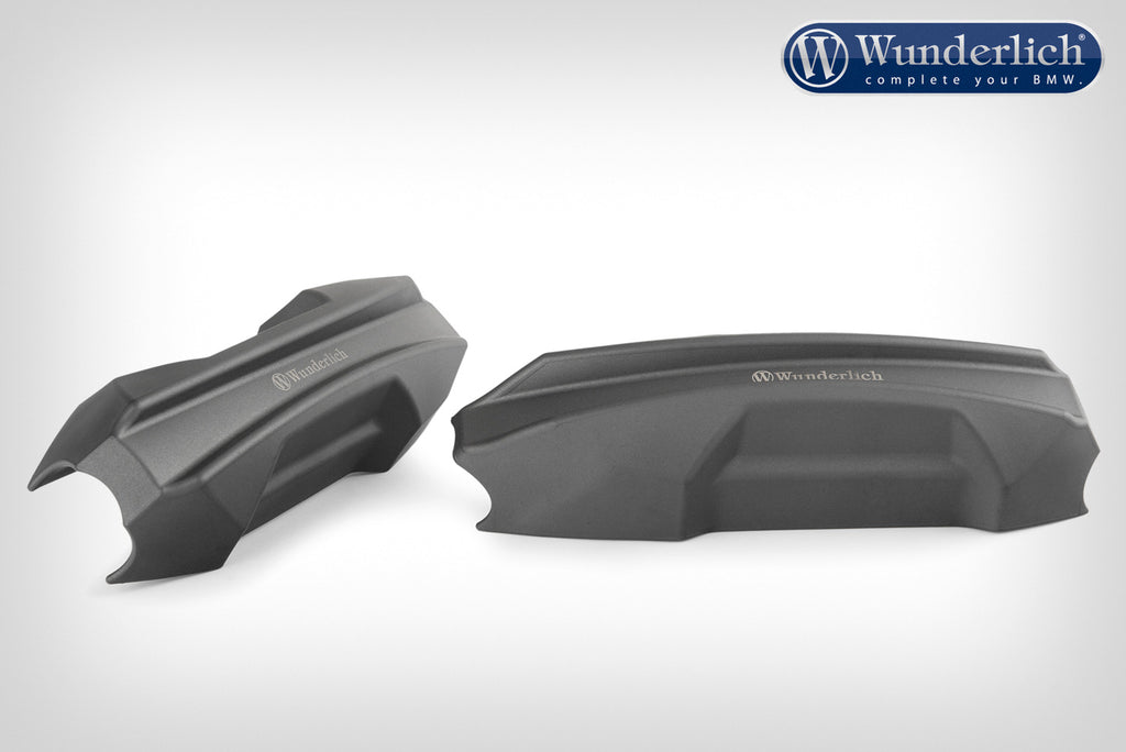 Wunderlich Crash Bar Slide Pad (Pair) - 25mm - Black