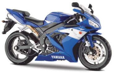 Maisto Yamaha YZF-R1 1:12 Scale Model