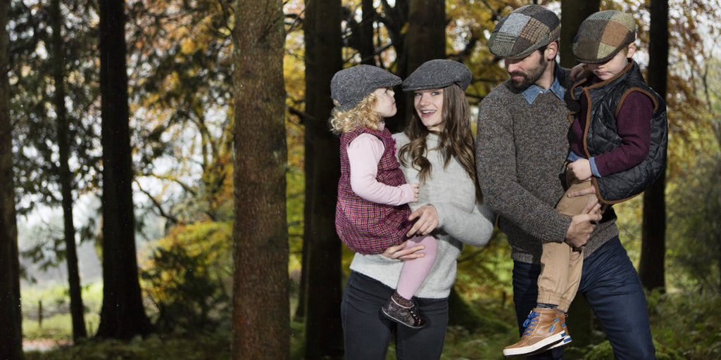 Hanna Hats Childrens Cap Tweed