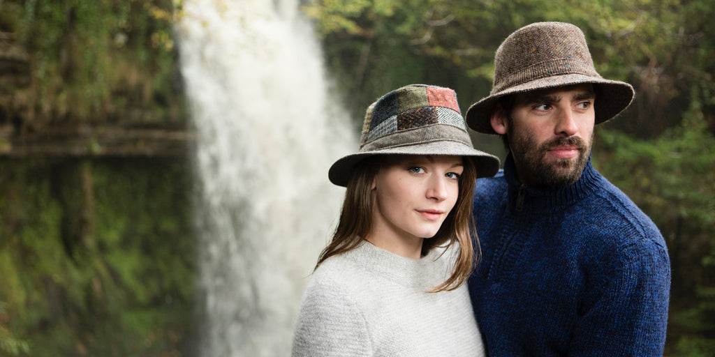 Hanna Hats Walking Hat Tweed