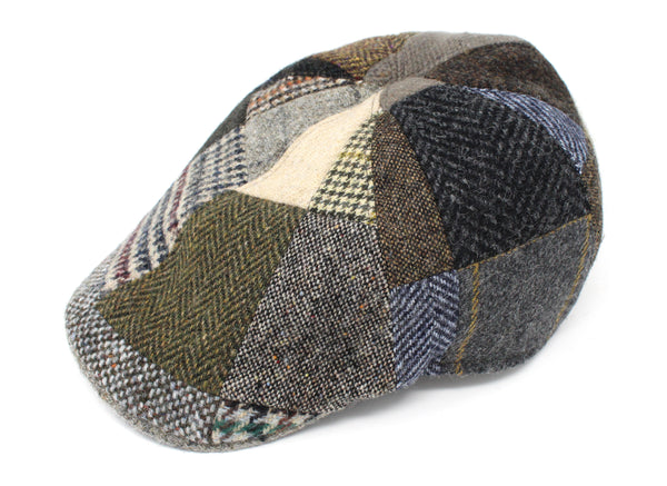 Erin Cap Patchwork Tweed - SPECIAL PRICE