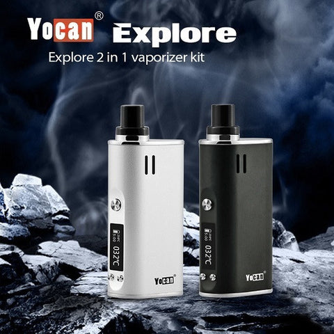 Yocan Explore Wax And Dry Herb Vaporizer Kit