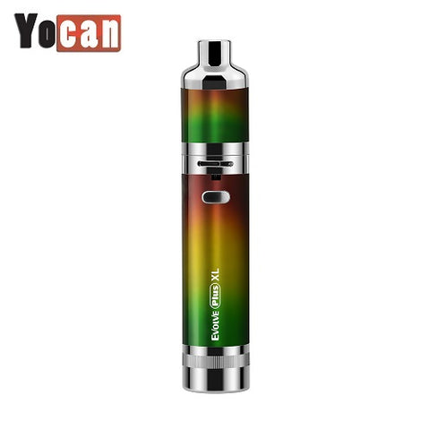 Yocan Evolve Plus XL Rasta Edition QUAD Quartz Coil Wax Vaporizer