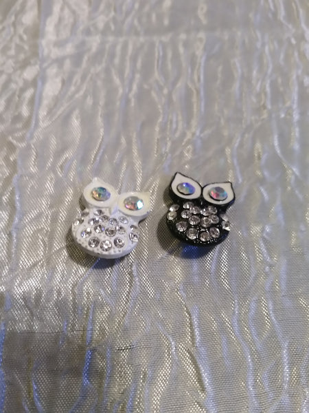 Hot 🔥 new snap and switch jewelry 18mm owl snaps