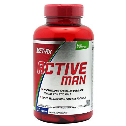 MET-Rx Active Man 90tabs - AdvantageSupplements.com