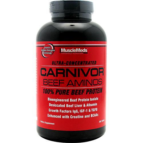 MuscleMeds Carnivor Beef Aminos 300tabs