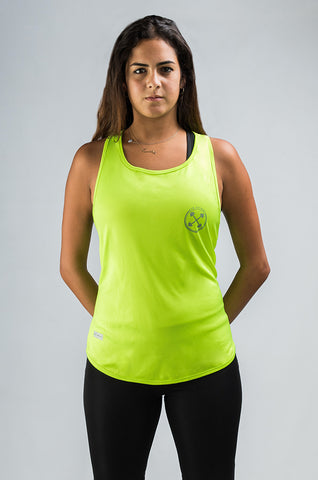 ULTRA | PERFORM-GEAR™ | Neon Lime Racer Back - Ultra performance - Gym Apparel Egypt