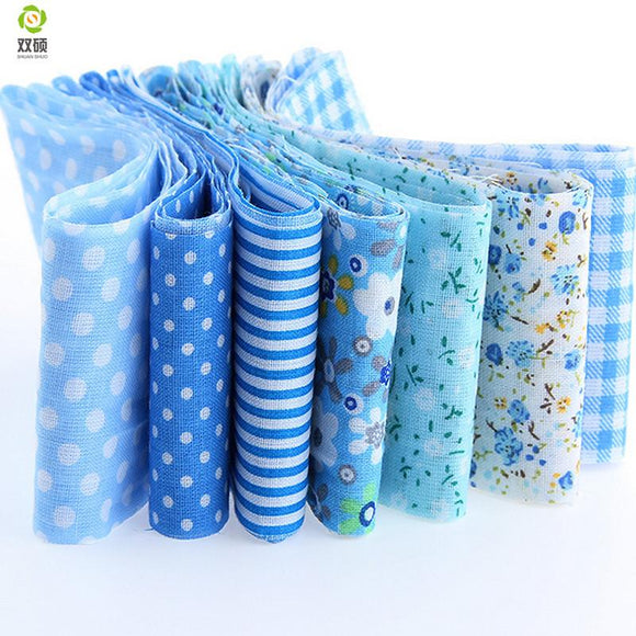 Jelly Roll Pack - Blue 7pcs 1.97