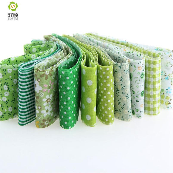 Jelly Roll Pack - Green 10pcs 1.97