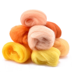 Felting Tool Kit With 50 Wools