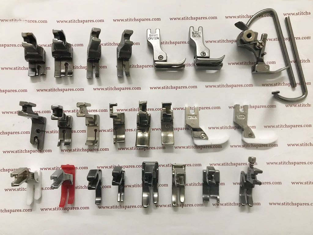 Complete Kit of Presser Foot For JUKI DDL-555 5550 5600 8300 8500 8700 9000 Industrial Single Needle Machine
