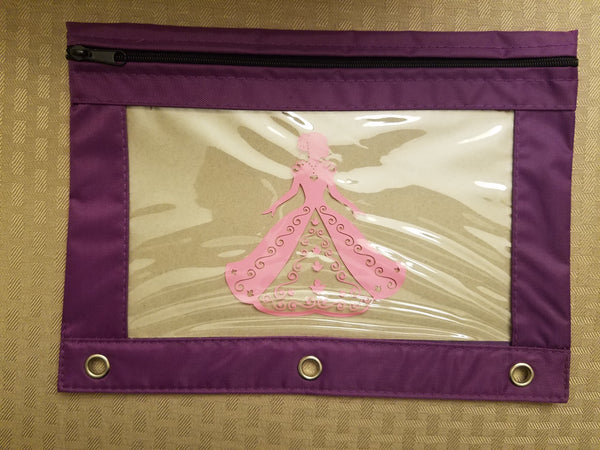 Princess pencil pouch - Back to school!
