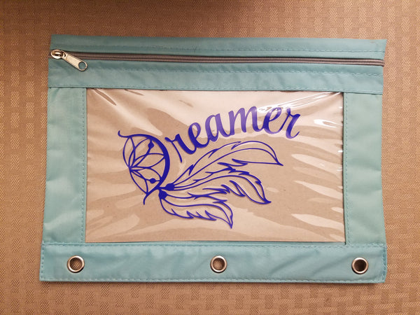 Dreamer pencil pouch - Back to school!