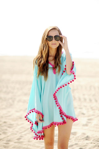 Cotton Beach Kaftans Bathing Suit - Chic128