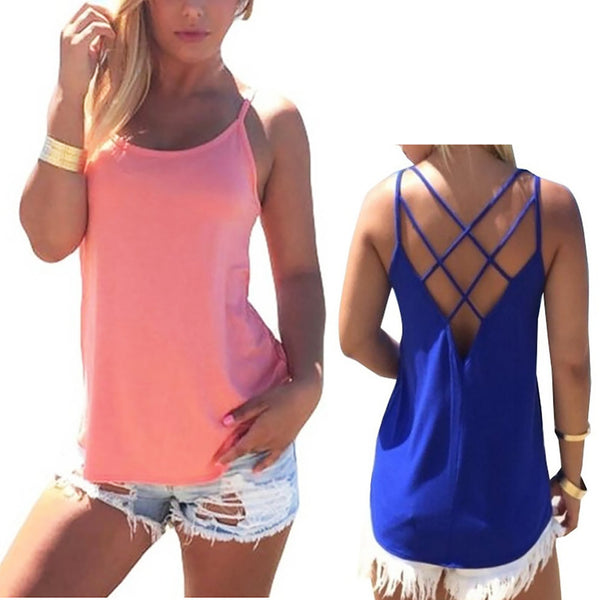 Sexy Backless T Shirt - Chic128