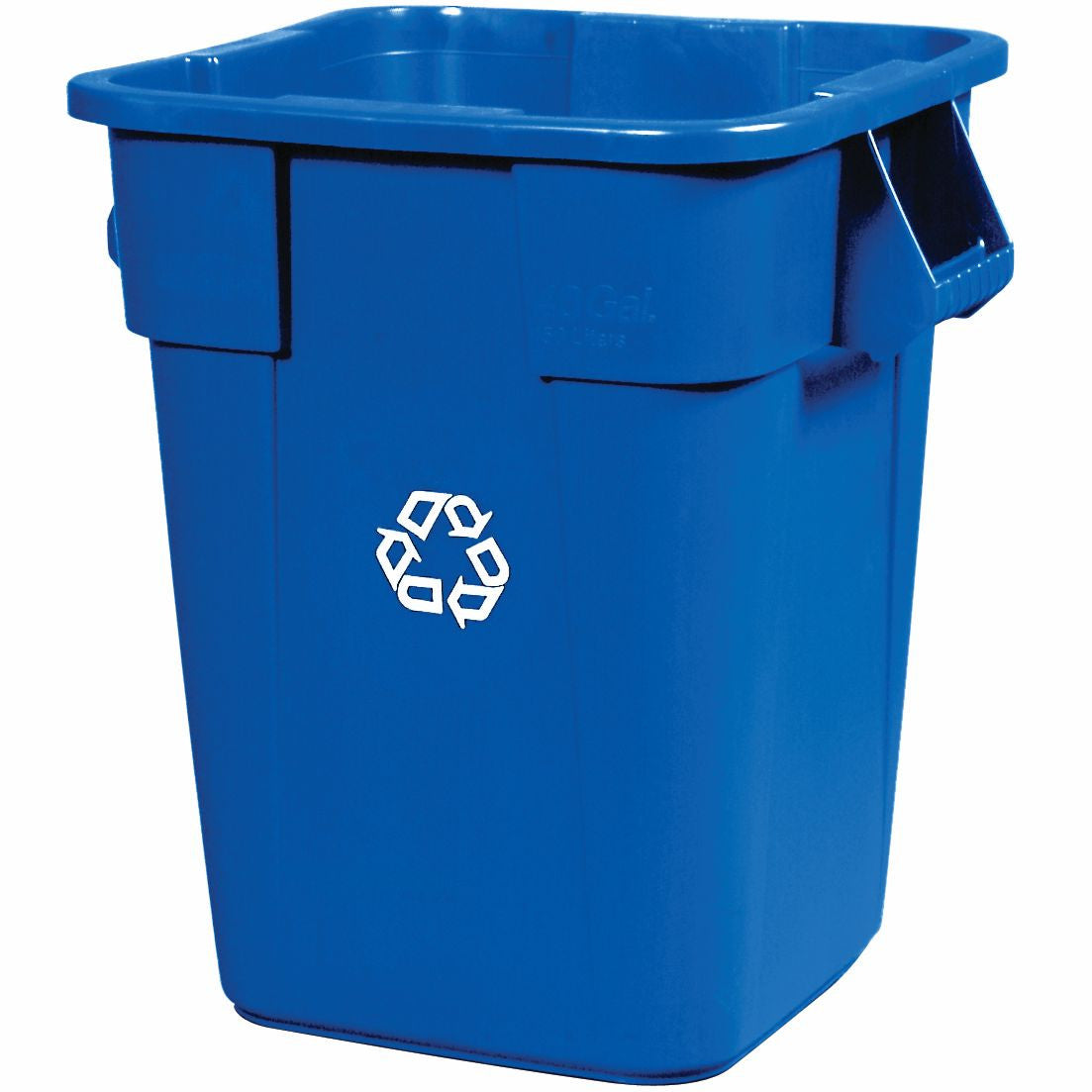 Sq RECYCLING CONTAINER BLUE