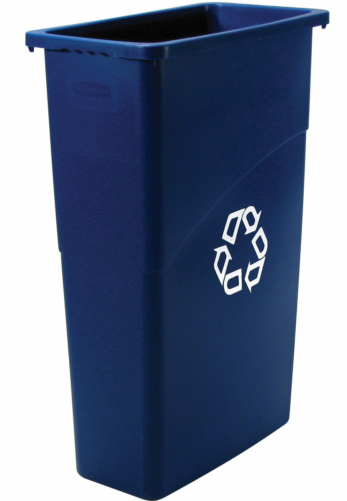 SLIM JIM 23gal RECYCLING CONT. BLUE