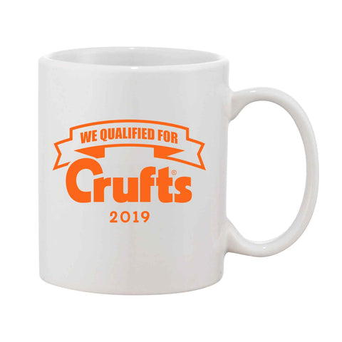 2019 We Qualified For Crufts Mug