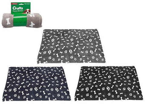 Crufts Coral Fleece Blanket