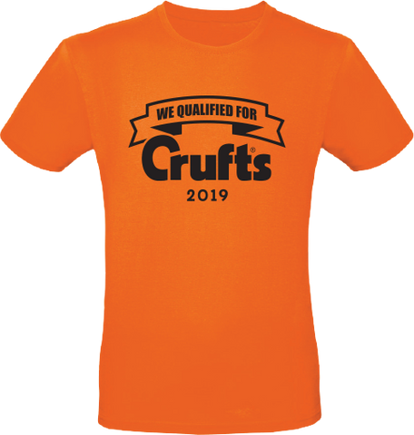 2019 We Qualified For Crufts Unisex T-Shirt