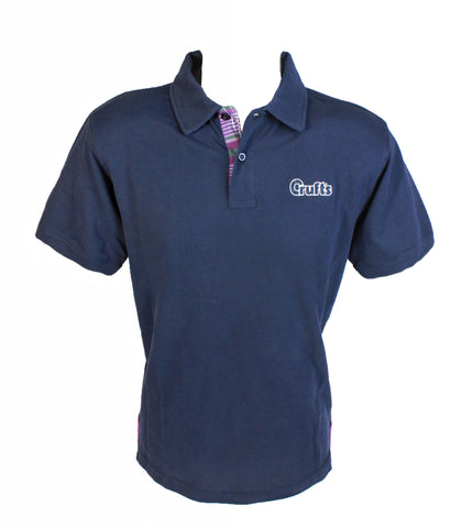 Crufts Navy Polo shirt Unisex