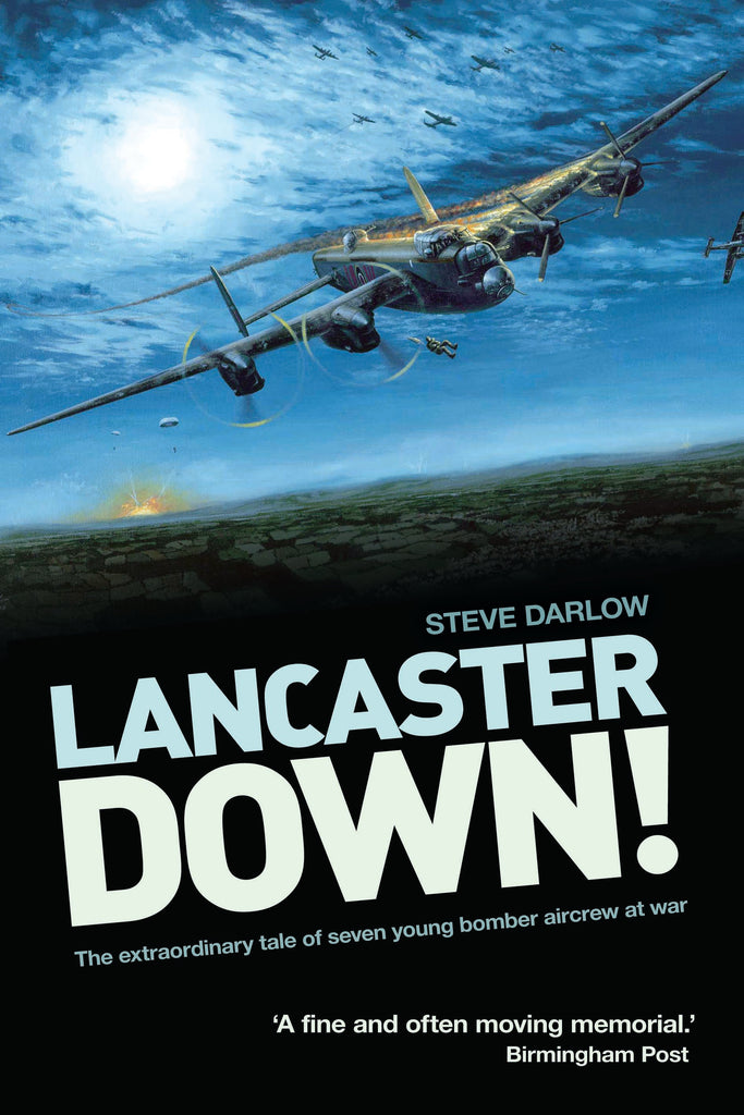 Lancaster Down (paperback) - author signed