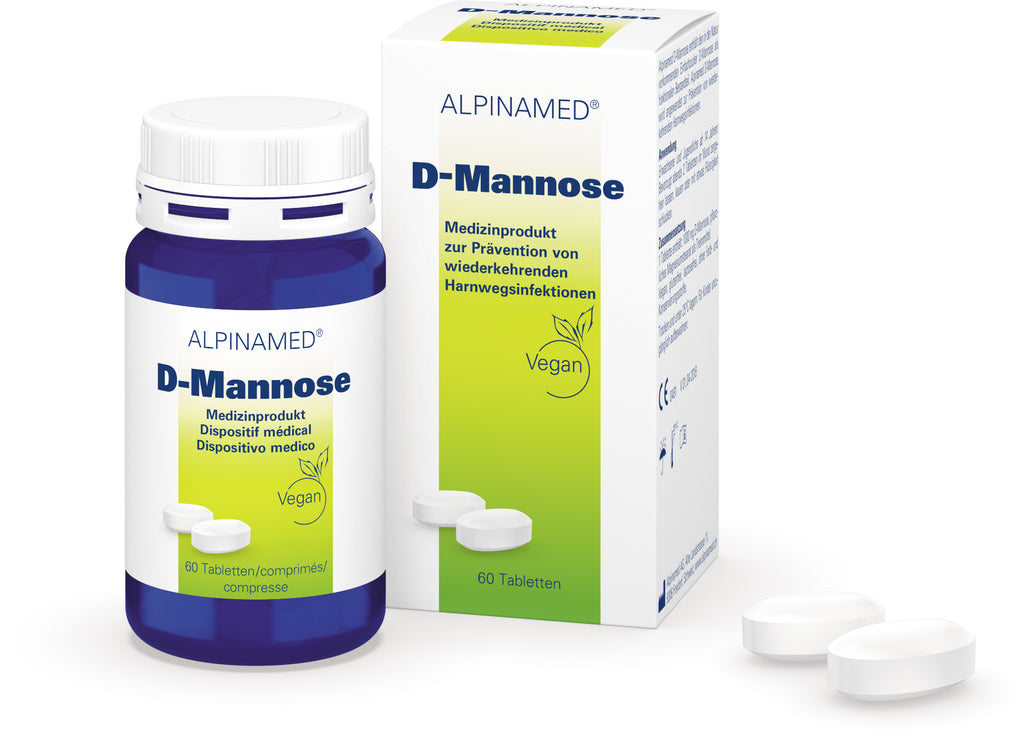 Alpinamed D-Mannose Tabletten 60 Stk.