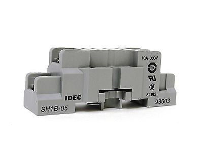 IDEC SH1B-05, 10A, 300V, Socket Relay Bases (LOT OF 10) - Industrial Sensors & Controls
