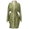 Avocado Kimono Robe - Short - Issara Fairtrade