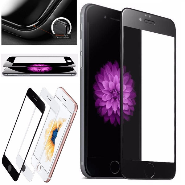 3D Circled Tempered Glass Full Screen Protector for iPhone 6/6 Plus