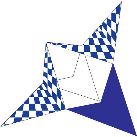 Complete Sail Set - Blue Flash Pyramid Racer