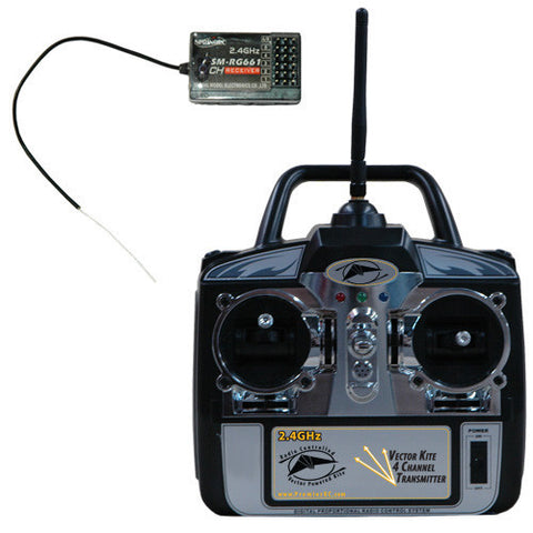 2.4GHz Four Channel Transmitter and Receiver