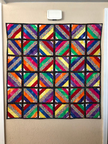 Finished Quilt for Orlando