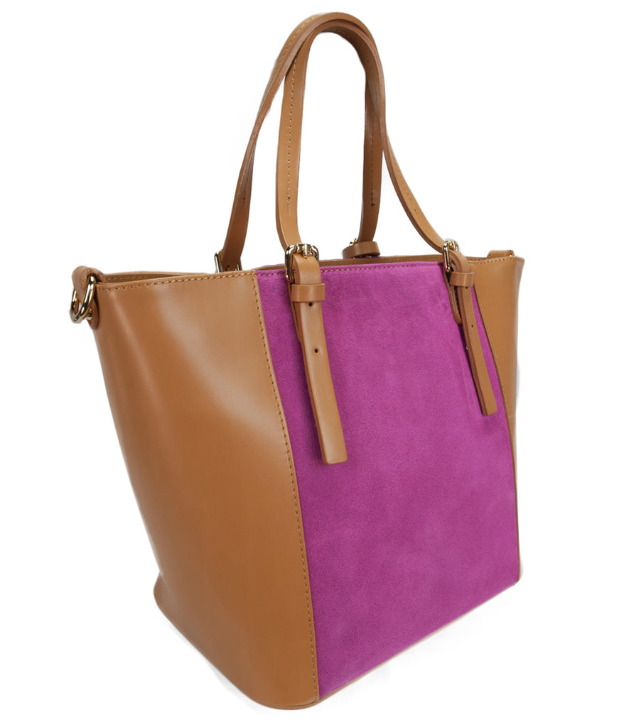 Leather Shopper/Tote Bag