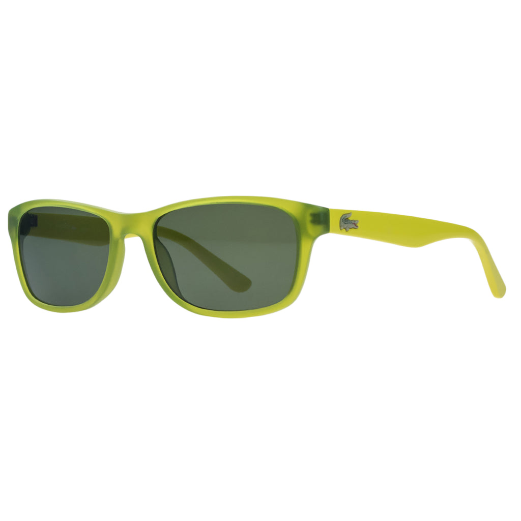 Lacoste  Acid Green Rectangle Kids Sunglasses