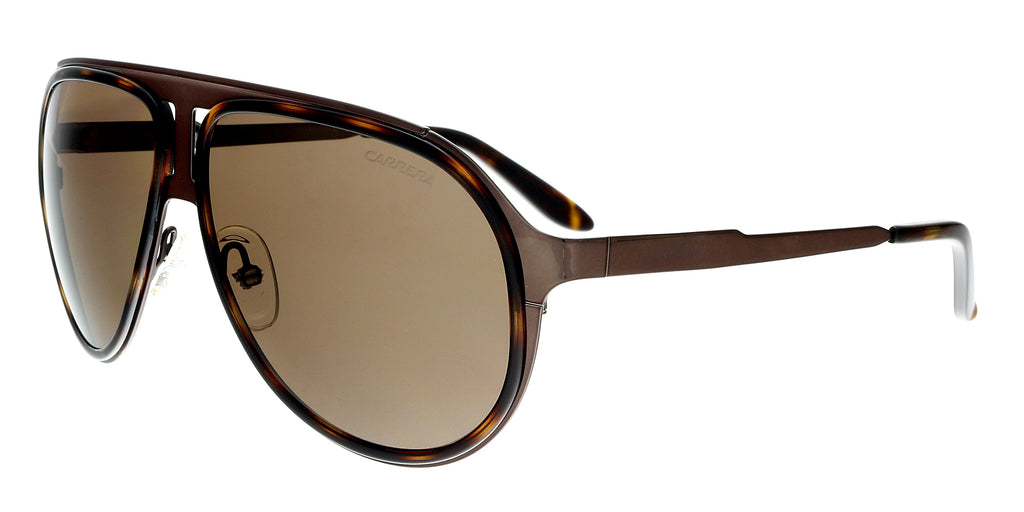 Carrera  Brown Havana Bw Aviator Sunglasses