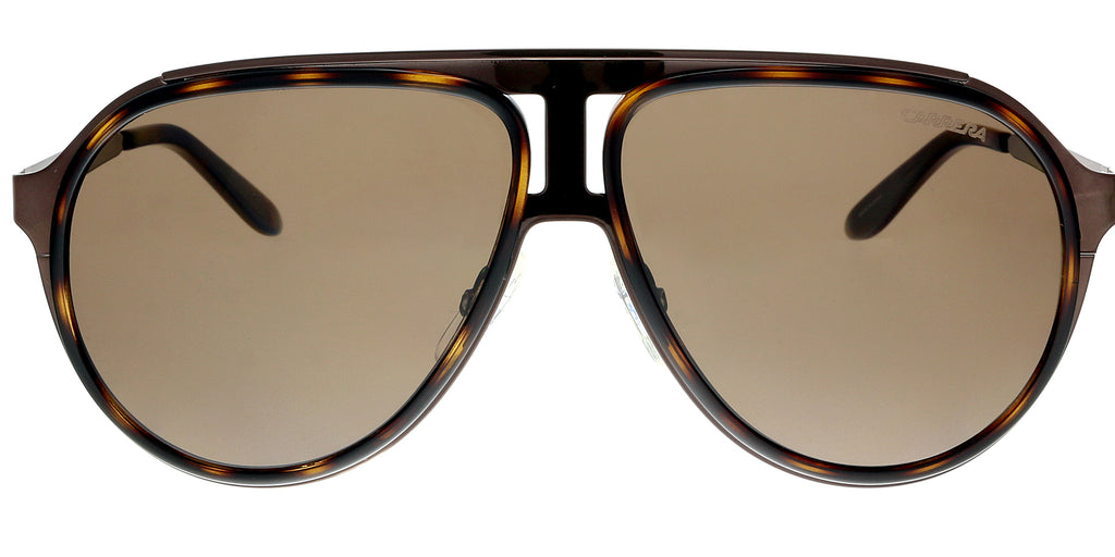 Carrera 100/S 0HKY EJ Brown Havana Bw Aviator Sunglasses