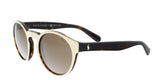 Ralph Lauren  Cream Round Sunglasses