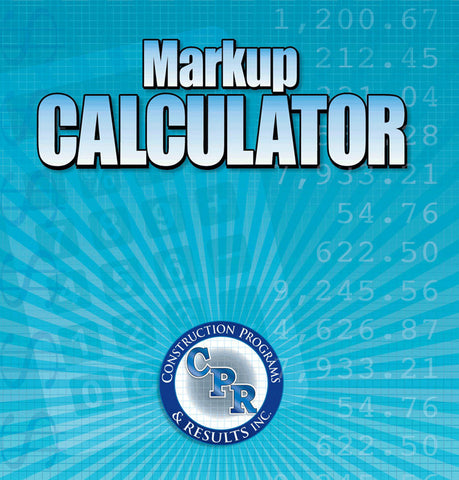 Markup Calculator Software Construction