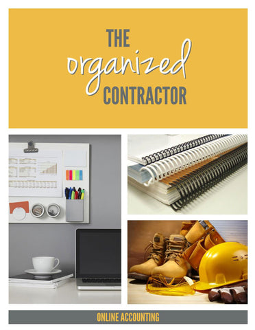 Office Organization for Contractors