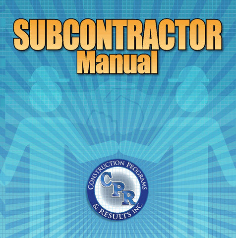 Subcontractor Agreement Construction