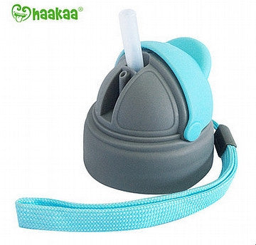 Wide Neck Baby Bottle Straw Cap With Handles