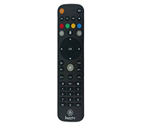 BuzzTV  XPL1000, XPL2000, XPL3000 Factory Replacement Remote Control