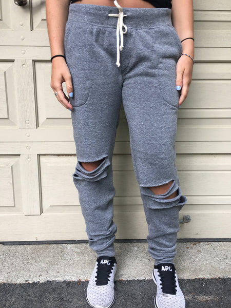 Snipped Joggers