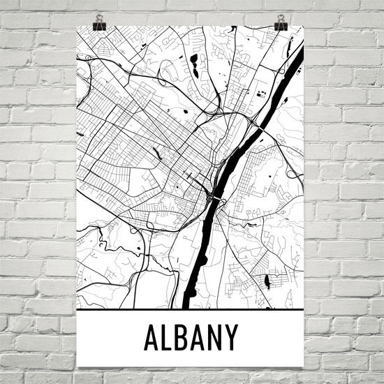 Albany NY Street Map Poster - Wall Print by Modern Map Art on map city of cohoes, map trenton nj, hudson river, map albany mn, map greenville ny, new york state capitol, map plattsburgh ny, long island, map buffalo ny, map of east islip new york, map astoria ny, map of upstate new york, map of adams tn, map of albany county new york, map of new york city in 1920, map brunswick me, map of albany area, map amherst ny, saratoga springs, new york, map of cohoes new york, niagara falls, map saratoga springs ny, map of ny, map glens falls ny, map utica ny, erie canal,