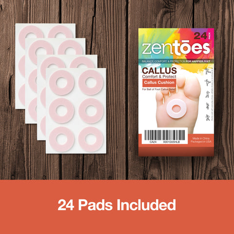 Callus Pads Cushions Pack - ZenToes Zen Toes