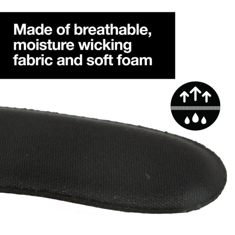 Heel Protectors Back of Shoes Cushioned Adhesive Liner Inserts - 8 Count - ZenToes Zen Toes