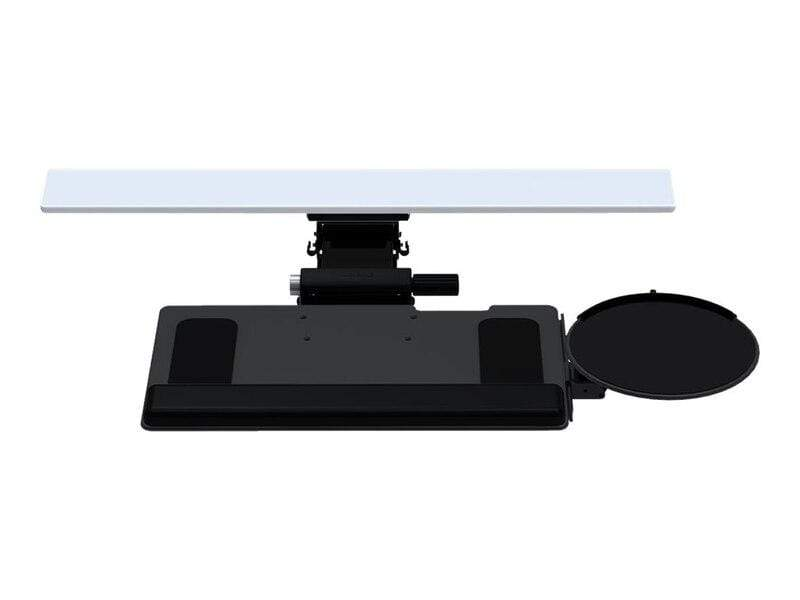 "Humanscale Keyboard Platform Black / 19 inch Foam with Synthetic Leather Cover / 11"" Humanscale 6G System with 900 Board and Clip Mouse"